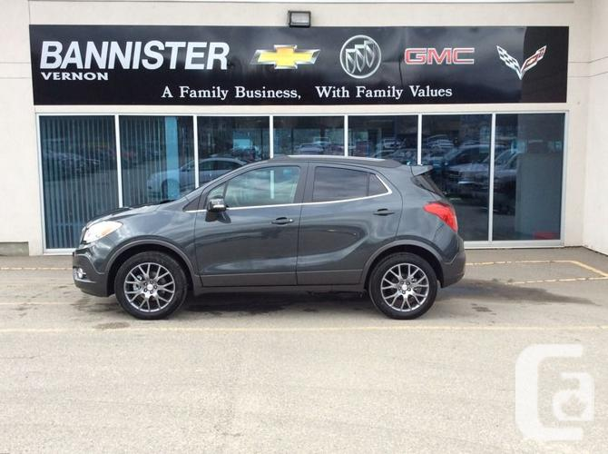 2016 buick encore sport touring 0ft for sale in vernon british columbia classifieds. Black Bedroom Furniture Sets. Home Design Ideas