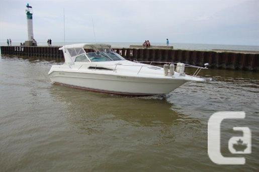 $38,000 1990 Sea Ray 330 Express Boat for Sale