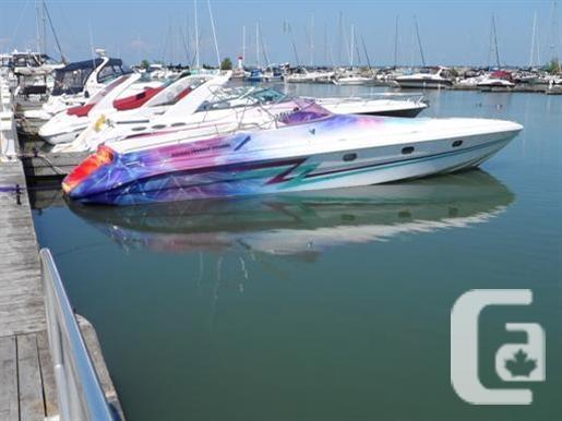 $38,900 1984 Tullio Abbatti 42 Offshore Diesel Boat for