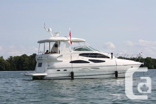 2007 cruisers yachts 455 express motor yacht boat for sale for Large motor yachts for sale