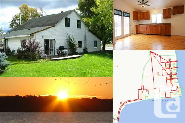 $399900 / 4br - 5 Acre Waterfront House With Tenant