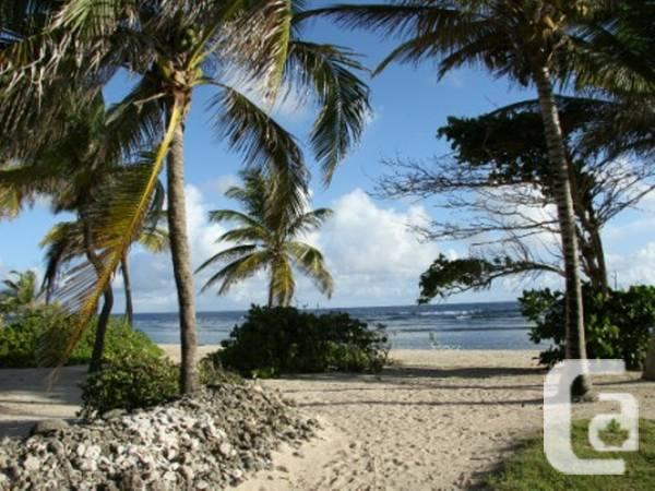3br -Caribbean seaside duplex on E US Virgin Islands