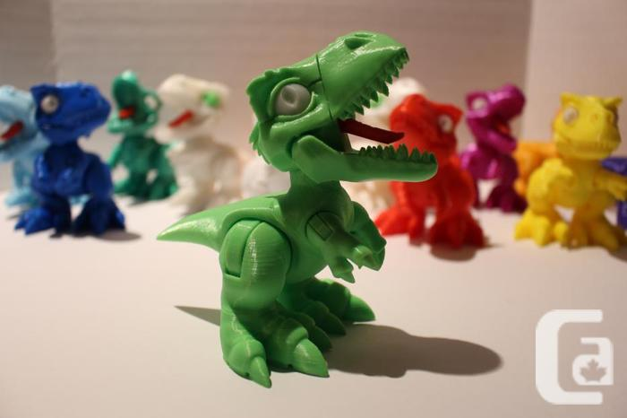 3D Printed Desk Toy T-Rex