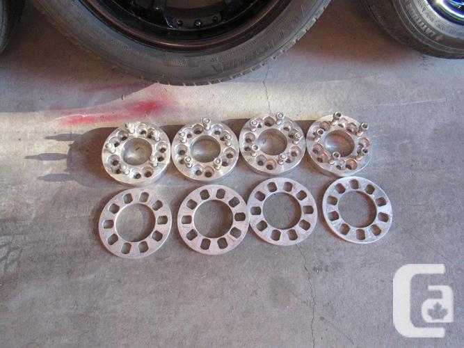 4- 18X8 American Racing wheels+newer