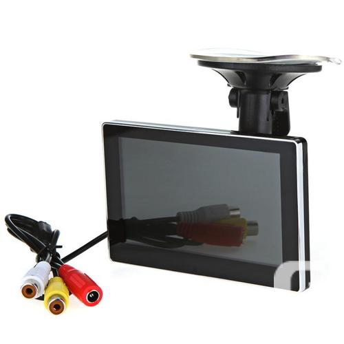 "4.3"" LCD Monitor with Suction Cup For Backup Camera"