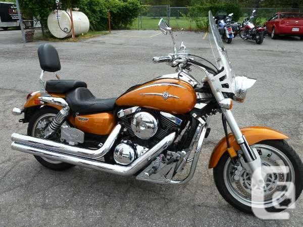 $4,895 2002 Kawasaki Vulcan 1500 Mean Streak Motorcycle