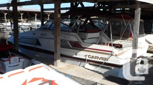 $4,900 1986 CARVER 2657 MONTEGO Boat for Sale