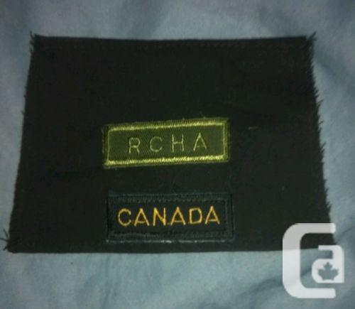 $4.99 Military canada patch RCHA Royal Canadian Horse