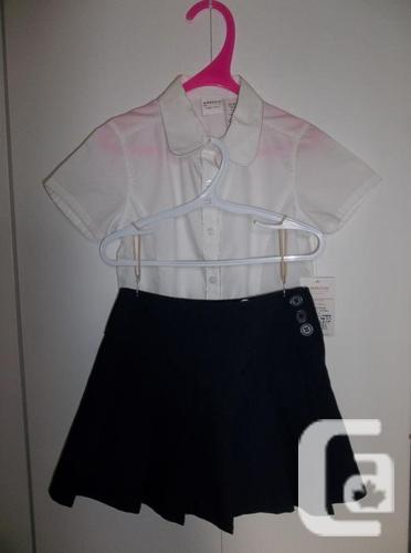 4 FOR $25.00 SCHOOLWEAR  WHITE BLOUSES BY ARROW BRAND