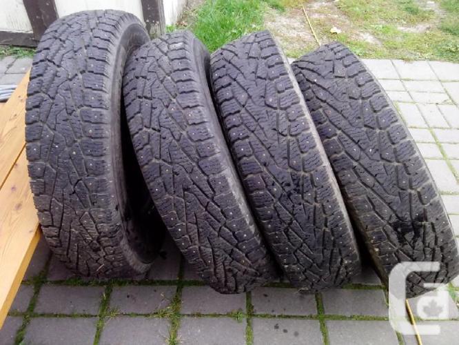 4 hakkapeliitta nokian studded winter tires