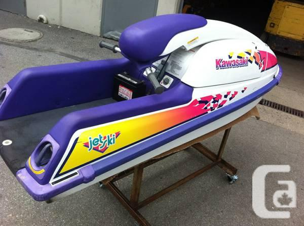 4 Kawasaki 750 Stand Up Jet Ski For Sale In Whistler