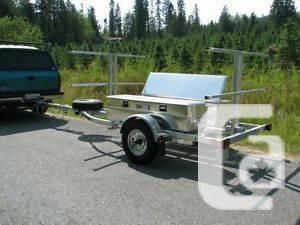 4 Location Raft / 8 SUP Truck with Storage Containers,