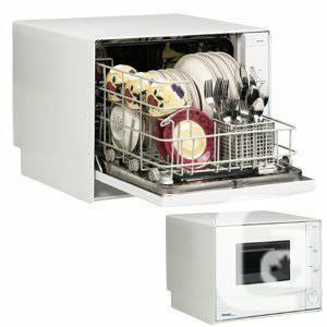 4-Place Setting Compact Countertop Dishwasher - $125