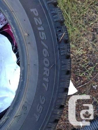 4 Snow tires. Hankook - $450