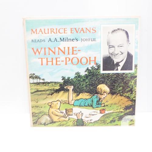 4 VINTAGE CLASSIC 1960s CHILDREN'S RECORD ALBUMS