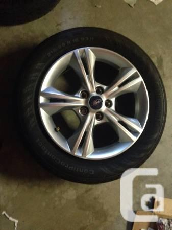 4 wheels and edge for $150 - $160