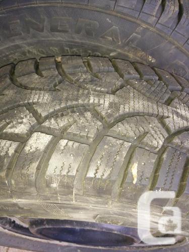 4 Winter tires & rims General Altimax Arctic 235/70R16