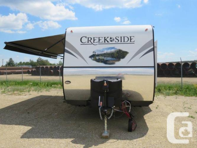 $40,845 2016 Outdoors RV Creek Side 23BHS 27ft