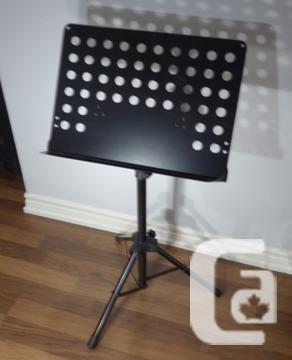 obo heavy duty yorkville music stand for sale in toronto ontario classifieds. Black Bedroom Furniture Sets. Home Design Ideas