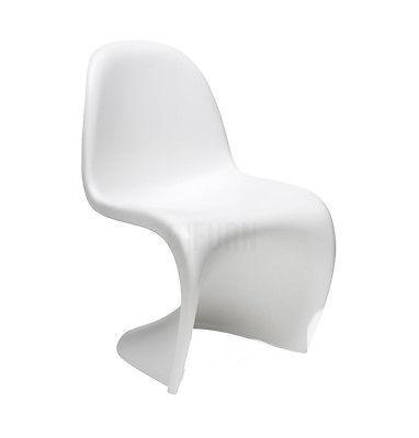 $409 2 x Verner Panton Style Panton Dining Chair |