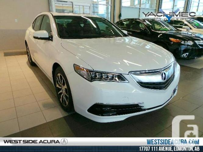 new 2016 acura tlx 2 4 p aws tech pkg for sale in edmonton alberta classifieds. Black Bedroom Furniture Sets. Home Design Ideas