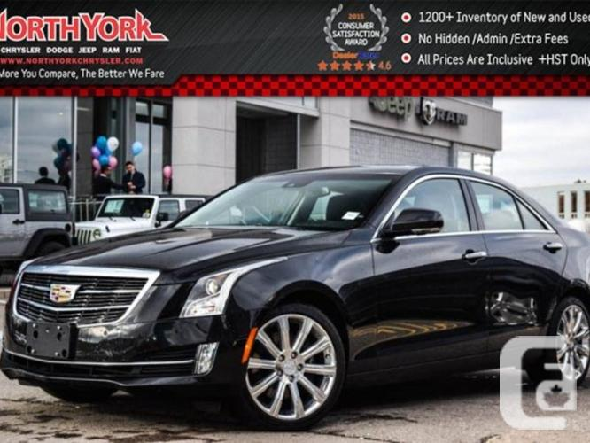 $42,499 Used 2015 Cadillac ATS Sedan Premium AWD