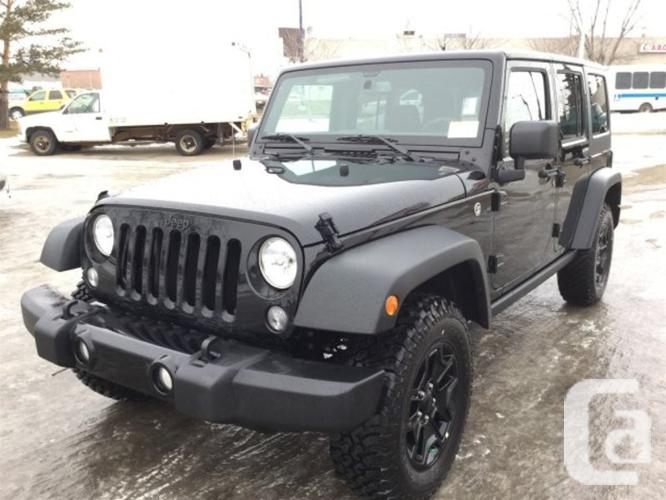 New 2016 Jeep Wrangler Unlimited UNLIMITED WILLYS 4X4 ...