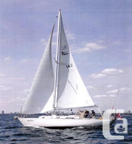 $44,900 1975 Whitby Boat Works Alberg 37 Sloop Boat for