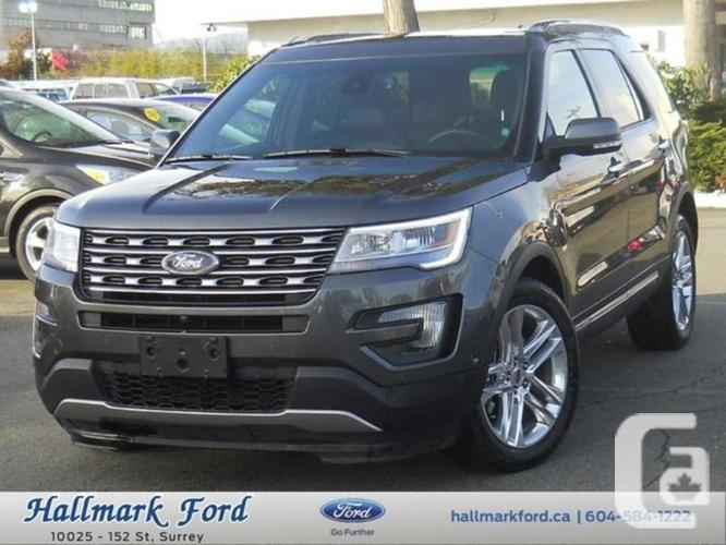 used 2016 ford explorer limited for sale in surrey british columbia classifieds. Black Bedroom Furniture Sets. Home Design Ideas
