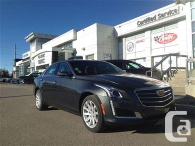 new 2015 cadillac cts 2 0l turbo luxury for sale in calgary alberta classifieds. Black Bedroom Furniture Sets. Home Design Ideas