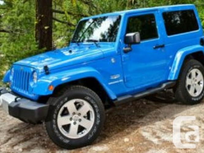 new 2016 jeep wrangler rubicon 4x4 2 door 3 6l manual for sale in edmonton alberta classifieds. Black Bedroom Furniture Sets. Home Design Ideas