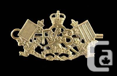 $46.24 Royal Canadian Corps of Signals: Brass Collar