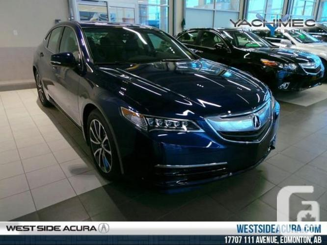 new 2016 acura tlx sh awd v6 tech for sale in edmonton alberta classifieds. Black Bedroom Furniture Sets. Home Design Ideas
