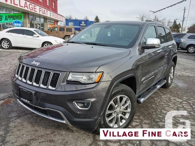 used 2015 jeep grand cherokee limited for sale in ajax ontario classifieds. Black Bedroom Furniture Sets. Home Design Ideas