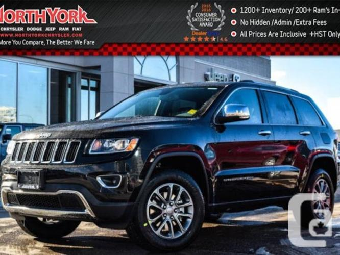 $49,769 New 2016 Jeep Grand Cherokee Limited New 4x4