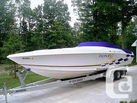 $49,900 1999 Donzi 33ZX Boat for Sale