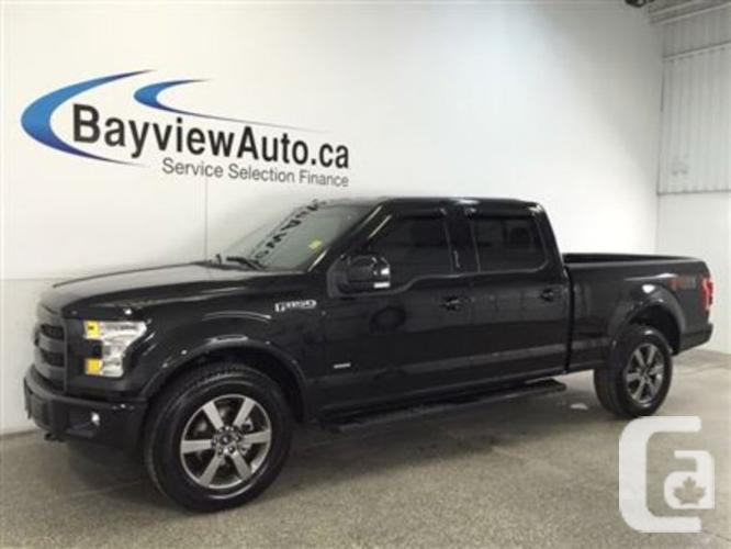 $49,995 Used 2015 Ford F-150 LARIAT- ECO BOOST!