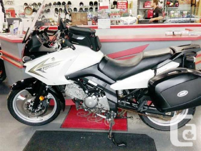 2010 suzuki v strom 650 abs motorcycle for sale for sale in hamilton ontario classifieds. Black Bedroom Furniture Sets. Home Design Ideas