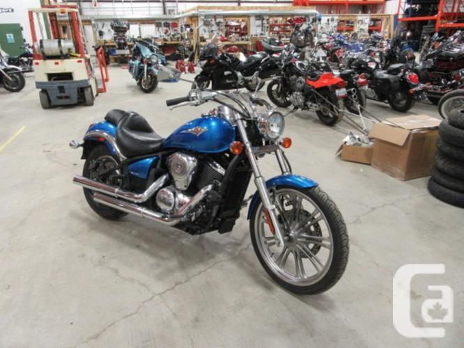 2010 Kawasaki Vulcan 900 Custom Motorcycle For Sale For