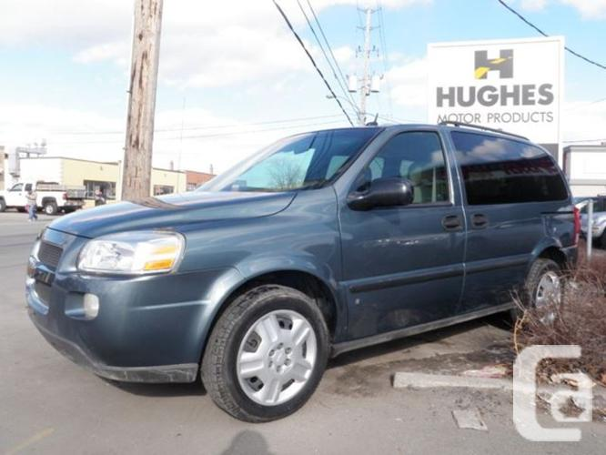 $5,995 Used 2007 Chevrolet Uplander LS DVD