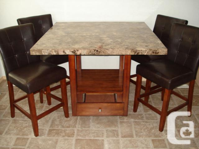 pcs counter height dining set for sale in mill bay british columbia