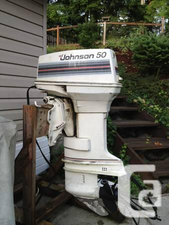 50 Hp Johnson Outboard 1150