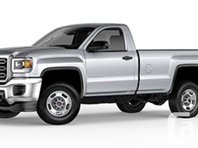 new 2016 gmc sierra 2500hd sle for sale in nanaimo british columbia classifieds. Black Bedroom Furniture Sets. Home Design Ideas