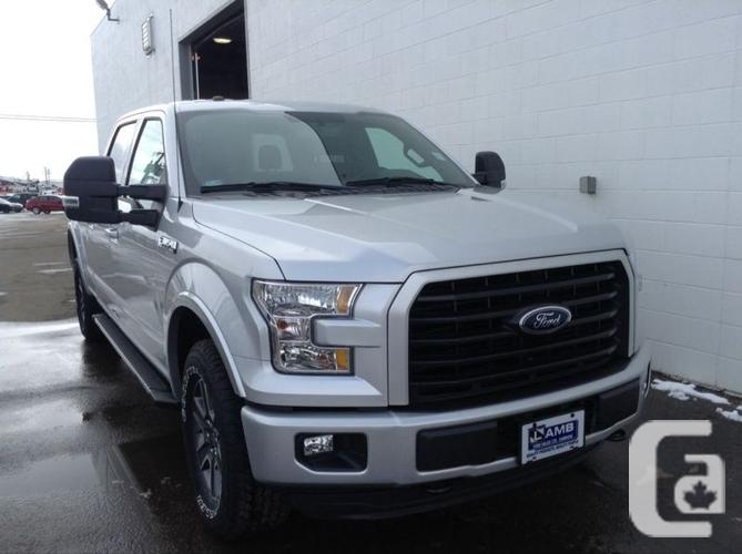 new 2016 ford f 150 xlt 301a trailer tow package sync sport package for sale in camrose. Black Bedroom Furniture Sets. Home Design Ideas