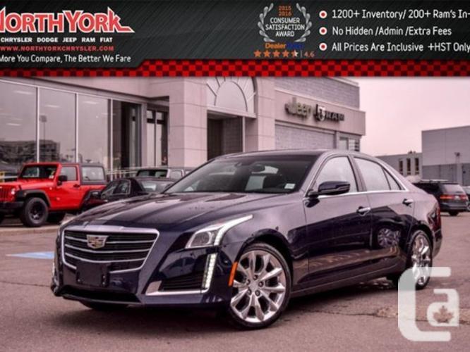 $54,998 Used 2016 Cadillac CTS Sedan Premium Collection