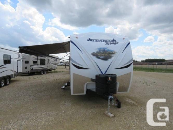 $55,545 2016 Outdoors RV Timber Ridge 270DBHS 31ft