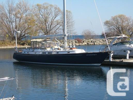 $550,000 2002 Ellis Custom Centre Cockpit Boat for Sale