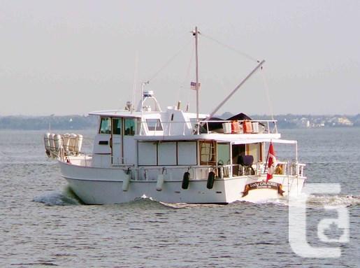1981 glen l argosy 42 trawler boat for sale for sale in