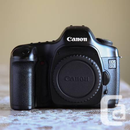 Canon: 5D classic, 17-40 L, 50 f/1.8 - $80