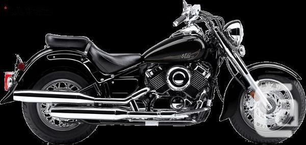$6,099 2014 Yamaha V-Star 650 Classic Motorcycle for